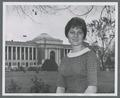 OSU College Bowl Team member Judy Torgerson on the Memorial Union quad