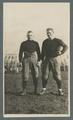 Two football players, circa 1916