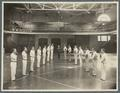 O.C. Mauthe instructing OAC students in fencing