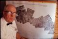 Charles Poulton with remote sensing chart