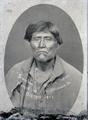 Sconchen', Modoc Indian hanged at Ft. Klamath, Oct. 3, 1873