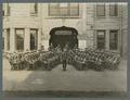 OAC band in front of Education Hall, 1915