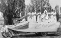 Queen of the Kitchen float from Crook County High School Day