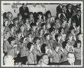 Rook Rousers at basketball game in Gill Coliseum