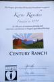 2012 Century Farm & Ranch Program Awards Ceremony