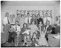 Journalism Christmas party, December 1955