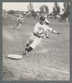 Willard Wright rounding 3rd base