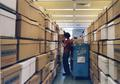 The OSU Archives move into the Valley Library