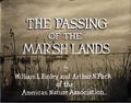 The Passing of the Marsh Lands