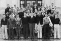 1936/1937 Oregon State College rowing club photo