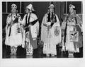 Miss Warm Springs and Miss Indian Northwest and two other young Indian women