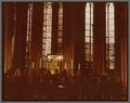 Choralaires sing before the Dreikoenigen Shrine in Koln Cathedral, July 13, 1973